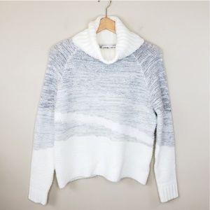 John + Jenn   Chunky Cowl Neck Sweater